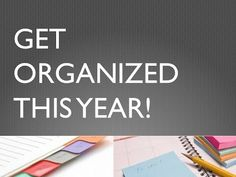 EASY ORGANIZING IDEAS: New Year's Resoultion 2014