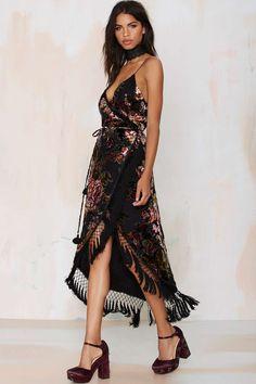 Line & Dot Bisou Wrap Dress | Shop Clothes at Nasty Gal!