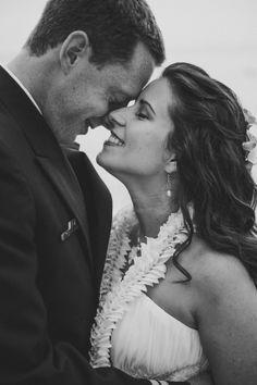 Real Wedding Wednesday ~ Warm Hawaiian Beaches, Orange Lilies and a StunningCouple!