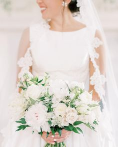 A neutral bridal bouquet with the smallest touch of pink! Hamilton Place at Pursell Farms | Alabama Wedding | Birmingham Wedding Planner | Becky's Brides Wedding Coordinator, Wedding Planner, Order Flowers Online, Birmingham Alabama, Wedding Flowers, Wedding Dresses, Bride Bouquets, Wedding Designs, Farms