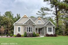 Ranch Style House Plan - 3 Beds 2 Baths 1908 Sq/Ft Plan #929-1013 - Houseplans.com Dream House Exterior, Dream House Plans, Small House Plans, House Floor Plans, Dream Houses, Modular Home Floor Plans, Farm Houses, Tucker House, Bookshelves Built In