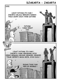 Ini dia perbedaan Jakarta Tempo dulu dan sekarang