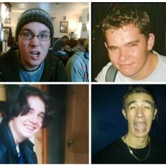 Dan, Woody, Will, and Kyle...The early days, honestly how did they go from this to looking how they do today