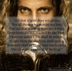 Middle-earth Quotes: Photo
