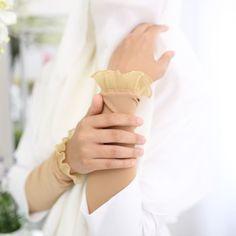 Handsock Maira ( Mocha Mellow), Women's Fashion, Muslimah Fashion on Carousell Sleeves Designs For Dresses, Sleeve Designs, Gloves Fashion, Women's Fashion, Hand Socks, Fashion Muslimah, Mocha, Singapore, Wallpaper