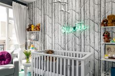 A Hunter's Dream Nursery crib