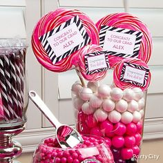 Hot magenta, teal and pink along with images of beauty items make the Pink Zebra Boutique Party Supplies a great choice for any spa party or sleepover birthday! Description from pinterest.com. I searched for this on bing.com/images