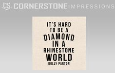 It's hard to be a diamond in a rhinestone world isn't it? These bandanas were printed for a client of ours who runs a cute boutique. Do you have customers who would love something like this? Just follow the link to our request a quote form and we'll do the rest! Cute Boutiques, Dolly Parton, Bandanas, Letter Board, Rest, Printed, Diamond, Link, Quotes