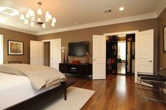Master Bedroom - Relaxing in warm neutrals and luxurious bedding - Bedroom Designs - Decorating Ideas - HGTV Rate My Space