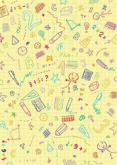 This cute school scrapbook paper design features grid paper with lots of school-ish scribbles and doodles - just right for your scrapbooks and crafts! Digital Scrapbook Paper, Digital Paper Free, Printable Scrapbook Paper, Printable Paper, Free Paper, Scrapbook Pages, Free Printable, School Scrapbook, School Themes