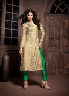 96e1eaa0c0 I found this beautiful design on Mirraw.com Silk Suit, Silk Pants, Designer