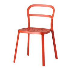 REIDAR chair from IKEA, to ad a pop of color