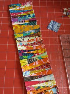 """""""Do you use small scraps?"""" they ask. Um, yes. Yes, I do. 