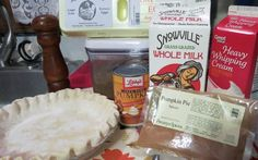 ATK pumpkin pie