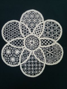 Best 12 Oval crochet doily new hand crocheted doilies ecru doily – SkillOfKing. Bobbin Lace Patterns, Knitting Patterns, Crochet Patterns, Blackwork Patterns, Blackwork Embroidery, Crochet Doilies, Crochet Lace, Romanian Lace, Bruges Lace