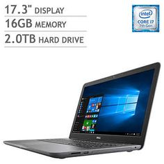 Dell Inspiron 17 5000 Series Laptop - Intel Core i7 - 1080p - 4GB AMD Graphics