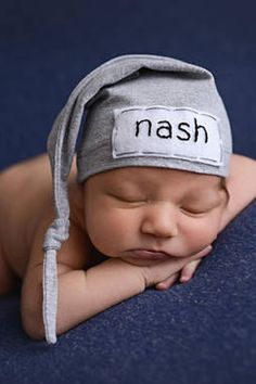 newborn personalized hat - newborn gift - heirloom gift for baby - baby boy  hat - baby girl hat - newborn name hat - hospital hat - hospital coming home  ... 5bcd57295194