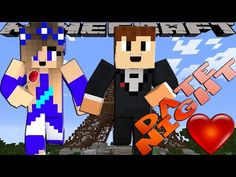 Minecraft Adventures - FIRST DATE NIGHT WITH LITTLE CARLY - YouTube