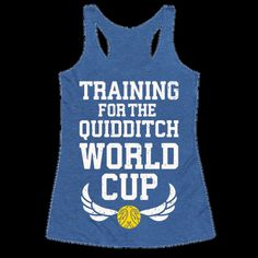Training For The Quidditch World Cup Tank