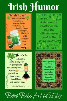 Quick irish jokes