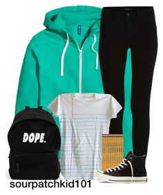 """""""Untitled #878"""" by sourpatchkid101 ❤ liked on Polyvore featuring VILA and Converse"""