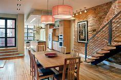 Kalorama Townhouse - contemporary - Dining Room - Dc Metro - Dynerman Architects pc
