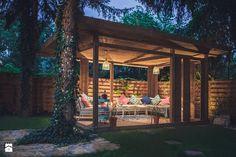 Green Home Decor, Outdoor Spaces, Outdoor Decor, Backyard, Patio, Terrazzo, Greenery, Gazebo, Architecture Design