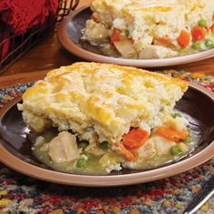 Gooseberry Patch Recipes: Quick-Fix Chicken Pot Pie from our new cookbook Easy Classic Casseroles