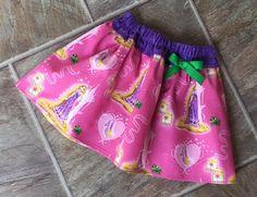 Rapunzel Skirt, Rapunzel Birthday, Princess Skirt, Tangled Skirt, Rapunzel Dress, Princess Birthday Skirt, Disney Princess, Handmade by LittleGiggleShop on Etsy https://www.etsy.com/listing/515903018/rapunzel-skirt-rapunzel-birthday