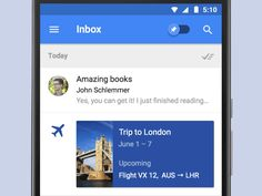 Happy I/O 2015!  It's the biggest day of the year for Google, and Inbox in particular has some awesome new features going live today. Aside from going out of invite, undo send, Keep integration and...