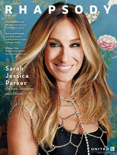 Sparkling star: The 51-year-old ombre blonde smiled from the magazine's front cover