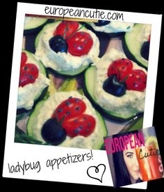 my ladybug appetizers! on MyRecipeMagic.com