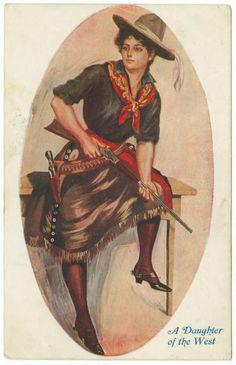 Edwardian Cowgirl