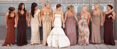 bridesmaids nature | Find the Perfect Bridesmaid Dresses that Flatter