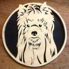 Portrait: Yorkshire Terrier