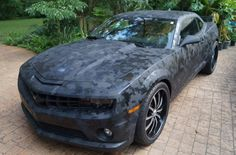 digital camo car  | Of course we wanted to see the car. We encourage all of our customers ...