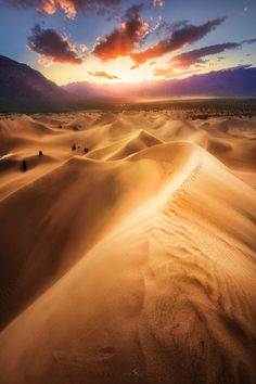 Further than the last footprint. by Stanley Chen Xi  #deserts