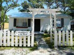 Tybee Island Vacation Rental - VRBO 625822 - 2 BR Coastal Cottage in GA, Madelyn's on the Marsh! Pet-Friendly! Polka Dots & Marsh Sunrises!