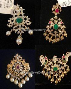Diamond Lockets for Beads Chains - Jewellery Designs