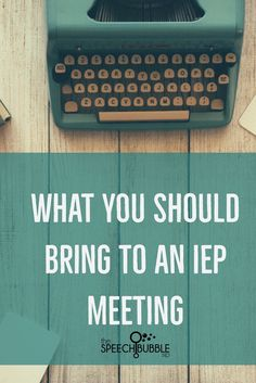 What you should bring to an IEP meeting.  Now we all know that IEP meetings are super fun…right, but when we don't have what we need it can really take the confetti out of the party.  So here are the things you should have with you at every IEP meeting to keep those good times rolling.
