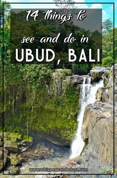 14 things to see and do in Ubud, Bali Eat Pray Love Bali, Amazing Destinations, Travel Destinations, Bali Honeymoon, Honeymoon Ideas, Travel Guides, Travel Tips, Travel Articles, Travel Stuff