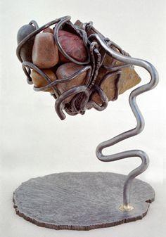 Daniel Friedman's rebar sculpture