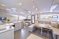 Leopard 48 Saloon and Galley