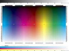 Image result for printing test page cmyk