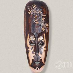 bemalte Maske Umut (50cm) Surfboard, Mindfulness, Masks, Surfboards, Consciousness, Surfboard Table