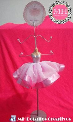 Ballerina Mannequin jewelry holder stand por MHDetallesCreativos