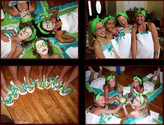 little girls spa birthday party at home | Spa Party Pictures