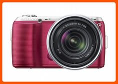 Sony Alpha NEX-C3 16 MP Compact Interchangeable Lens Digital Camera Kit with 18-55mm Zoom Lens (Pink) - Photo stuff (*Amazon Partner-Link)