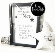 Free printable twinkel twinkel kleine ster...