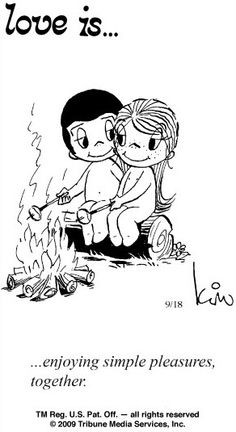 enjoying simple pleasures, together. - … enjoying simple pleasures, together. … enjoying simple pleasures, together. Love Is Comic, Love Is Cartoon, What Is Love, Love You, My Love, Image Citation, Love Quotes For Him, Husband Quotes, Simple Love Quotes
